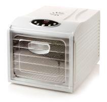 Sušička ovoce - digitální - DOMO  DO353VD, 6 nerezových plat, časovač, regulace teploty