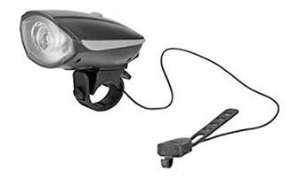 Svítilna na kolo 1x5W LED bílá s výstražným signálem TR325