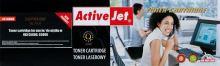 ActiveJet toner OKI Page C5800, C5900 Black NEW 100% - 6000 str.     AT-5800BN EXPACJTOK0013