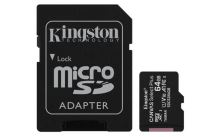KINGSTON 64GB microSDHC CANVAS Plus Memory Card 100MB read - UHS-I class 10 Gen 3 SDCS2/64GB