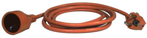 Prodlužovací kabel – spojka, 25m, oranžový, 1901012500