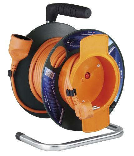 PVC prodlužovací kabel na bubnu – spojka, 25m, 1,5mm2 P19125