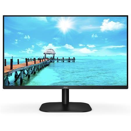"""AOC LCD 27B2H 27"""" IPS/1920x1080@75Hz/250cd/8ms/20mil:1/VGA/HDMI/VESA/Low Blue Light/Flicke"""