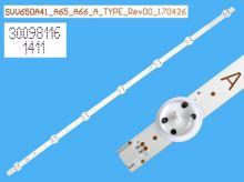 LED podsvit 707mm, 7LED / DLED Backlight 707mm - 7DLED  SVV650A41_A65_A66_A_Type_Rev00_170426 / 30098116