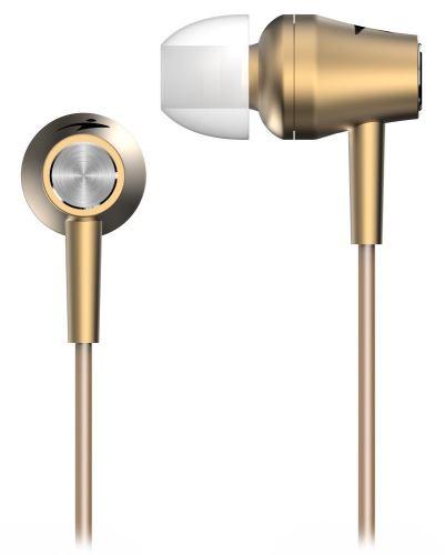 GENIUS HS-M360 /sluchátka s mikrofonem/ 3,5mm jack - 4 pin/ zlatý