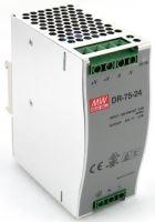 STA RUZ ZDROJ DR-75-24 NA DIN 230V/24VDC/3,2A/76,8W