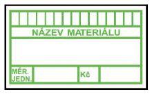 TAB PLAST.MATERIALOVY STITEK 135X80MM 72005