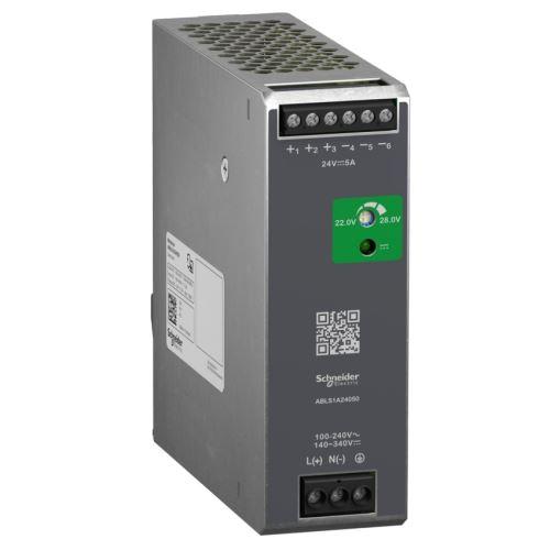 SCHN MODICON ZDROJ SPÍNANÝ OPTIMÁL 1F 230VAC/24VDC 5A 120W ABLS1A24050