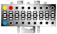 ISO kabel pro autorádio SONY 16-pin/ISO ZRS-52