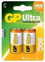 Alkalická baterie GP Ultra C (LR14), 1014312000