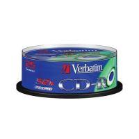 VERBATIM CD-R 700MB, 52x, spindle 25 ks 43432