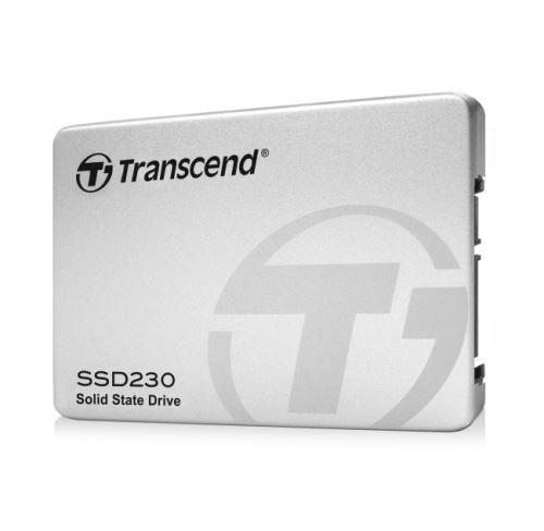 TRANSCEND SSD230S 256GB SSD disk 2.5'' SATA III 6Gb/s, 3D TLC, Aluminium casing, 560MB/s R
