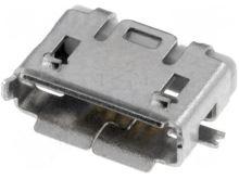 Zásuvka USB B micro, PCB, 5 pin ESB227110100Z