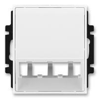 JBE K 5014E-A00400 01 KRYT ZÁS.PANDUIT, BÍLÁ/LED.BÍLÁ