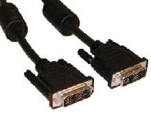 Kabel C-TECH  přípojný  DVI-DVI, M/M,  1,8m DVI-D, dual link, KABCT1F22