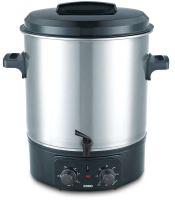 Zavařovací hrnec elektrický, nerez s kohoutem - DOMO DO323W