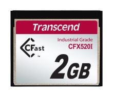 Transcend 2GB INDUSTRIAL TEMP CFAST CFX520I paměťová karta (SLC)