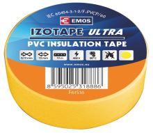 Izolační páska PVC 15mm / 10m žlutá, 2001151060