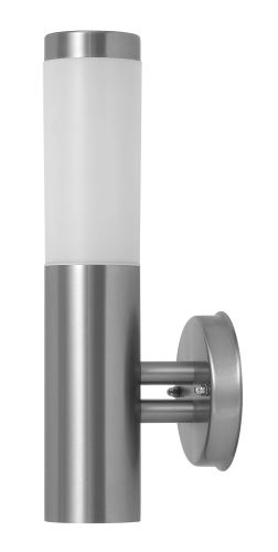 Rabalux 8262 Inox torch, outdoor 1 arm nástěnná lampa, up