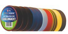 Izolační páska PVC 19mm / 20m barevný mix, 10ks, 2001192099
