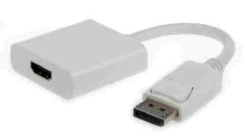 Kabel GEMBIRD red. Displayport na HDMI, M/F, bílá