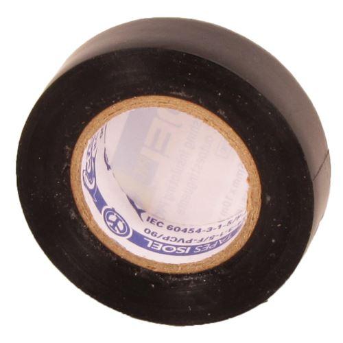 ELEM PÁSKA PVC IZOLAČNÍ ČERNÁ 15MMx10Mx0,15MM 1099050