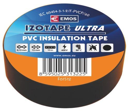 Izolační páska PVC 15mm / 10m černá, 2001151020