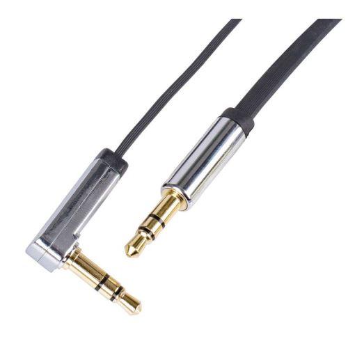 JACK kabel 3,5mm stereo, vidlice - 3,5mm vidlice 1m SM7031BL
