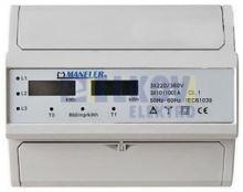 EM ELEKTROMĚR LCD 10-100A TŘ.1, 2.SAZ/3F. 7MOD. 9907D