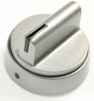 Knoflík regulace plamene sporáku AMICA CODE1_G/09.8839.00 stříbrný