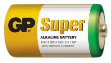 Alkalická baterie GP Super LR20 (D), 1013402000