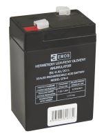 Bezúdržbový olověný akumulátor 6V 4Ah pro svítilny 3810, B9641