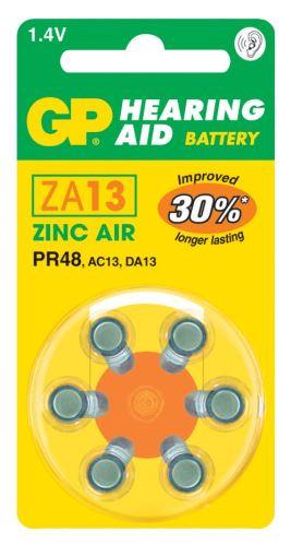 Baterie do naslouchadel GP ZA13 (PR48), 1044001316