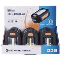 COB LED pracovní svítilna P3889, 200 lm, 3× AAA, 1440833100
