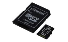 KINGSTON 128GB microSDHC CANVAS Plus Memory Card 100MB/85MBs- UHS-I class 10 Gen 3 SDCS2/128GB