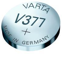 Knoflíková baterie do hodinek 377 Varta