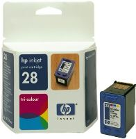 HP C8728AE Ink Cart No.28 pro DJ 3325, 3420, 3550,3650, 8ml, Color C8728AE#UUQ