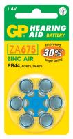 Baterie do naslouchadel GP ZA675, blistr, B3575