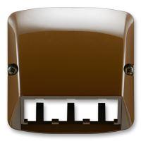 JBT K 5014A-A00410 H   KRYT PANDUIT, TANGO, HNĚDÁ