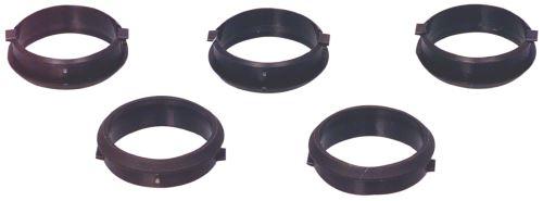 Nasazovací Kroužek hadice vysavače 32 mm Černá