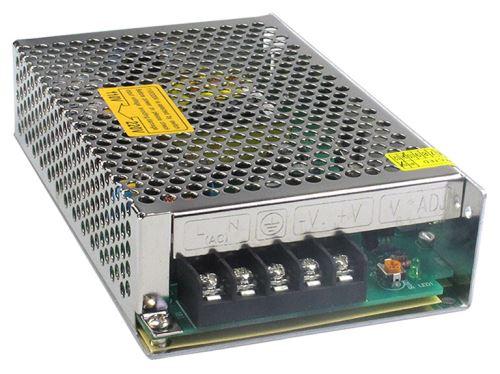 MCLED ZDROJ NAPÁJ.K LED 12VDC  75W 6,25A, IP20, KOV, ML-732.014.10.0