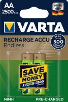Baterie Varta HR6 2500/2 R2U