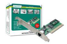 Digitus Fast Ethernet PCI Card 10/100Mbit Realtek WOL, DN-1001J