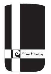 Pouzdro Pierre Cardin - FRESH CROSS, vertikální, bílé (117x60x12mm)