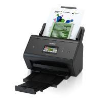 Brother ADS-3600W vysokorychlostní oboustranný skener dokumentů, dotyk. LCD, ethernet, WiFi ADS3600WUX1