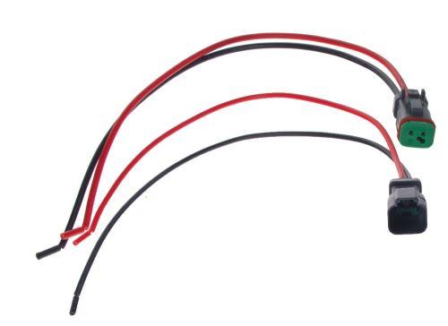 profesionální vodotěsný konektor DT samice+samec