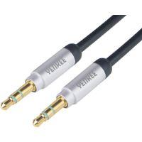 YCA 201 BSR kabel AUX M/M 1m kov. YENKEE