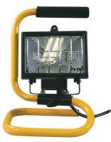 Halogenový reflektor 150W bez PIR senzoru černý s držákem, 1444150023