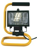 Halogenový reflektor 150W bez PIR senzoru černý s držákem, G3101