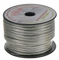 Kabel 10 mm, stříbrně transparentní 1 m